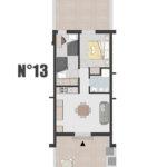 Appartamento n°13