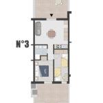 Appartamento n°3